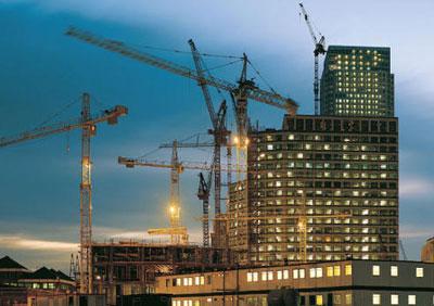 Wire-Sling-pada-Tower-Crane-Konstruksi