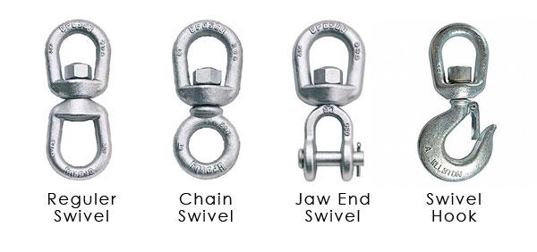 Jenis-Swivel-dan-Kegunaannya